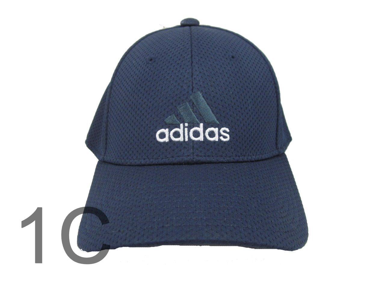 adidas flex fit cap hat baseball basketball running black