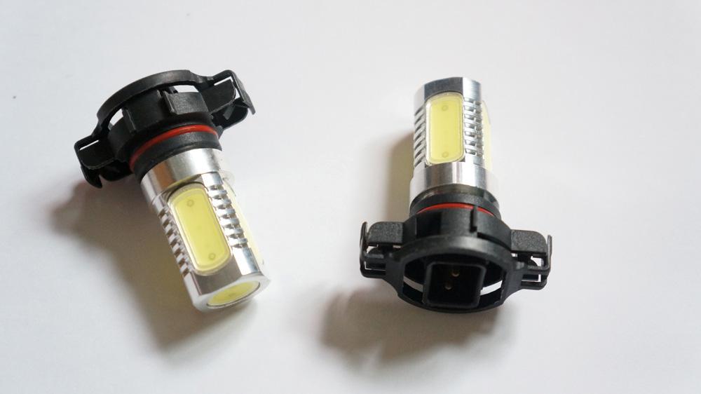 psxw white  watt led drl fog lights bulbs