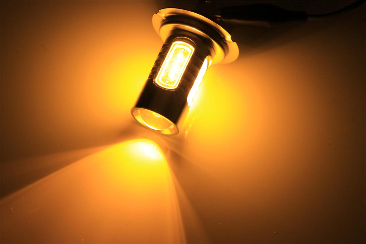 psxw amber  watt led drl fog lights bulbs  ebay