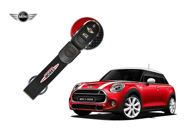 keyfob cover hard case car key chain fob hardtop cap for mini cooper f56 f55 14 ebay. Black Bedroom Furniture Sets. Home Design Ideas