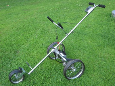 Kangaroo Lil Joey Motorized Golf Bag Caddy Ebay
