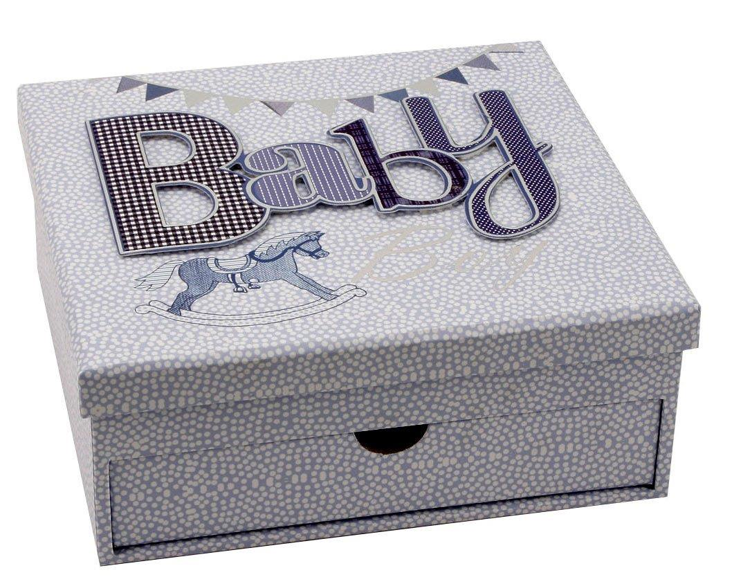 Baby Gift Keepsake Box : Baby boy keepsake box and photo album gift ld b