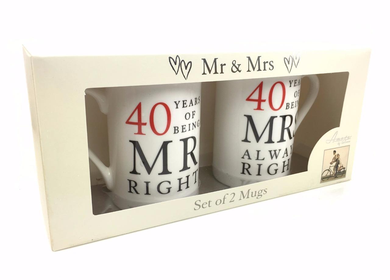 Gift 40th Wedding Anniversary: 40th Ruby Wedding Anniversary Gift