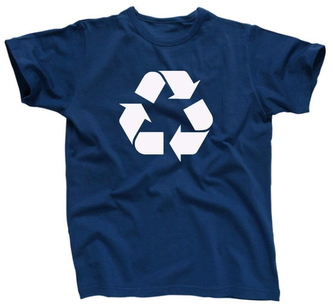 Recycle symbol big bang theory leonard t shirt blue for Big blue t shirts