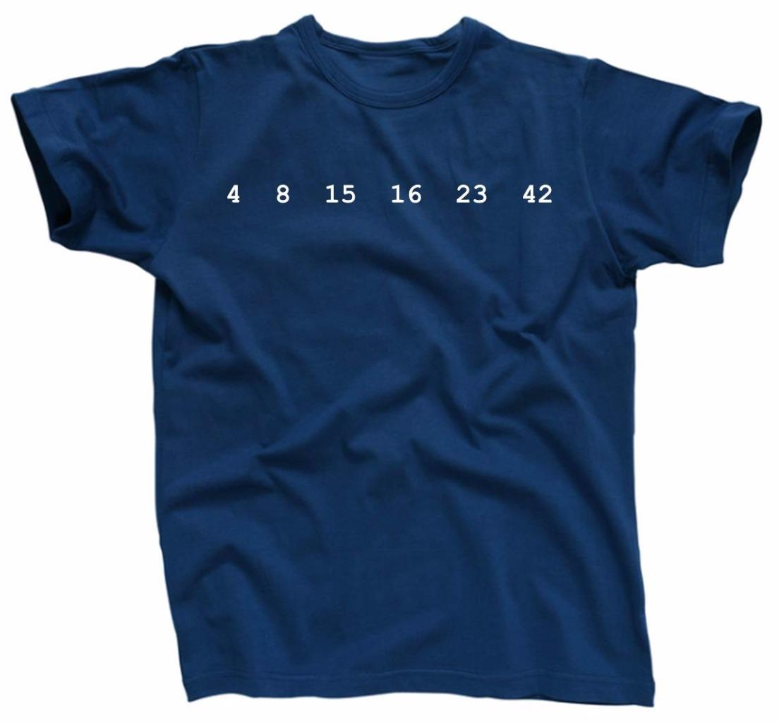 4 8 15 16 23 42 Lost Numbers Novelty Statement Tv Show T