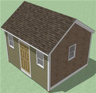Summers free 10x14 gable shed plans for 10x14 shed floor plans