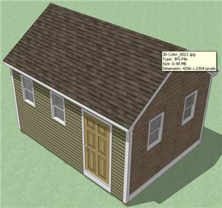 about 12x16 Shed Plans- How To Build Guide - Step By Step - Garden ...