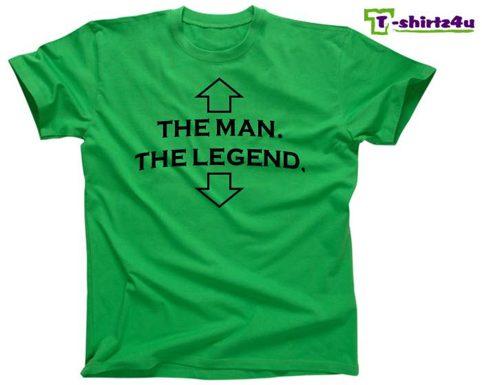 The Man The Legend Funny Drinking College Party Cool Tee T