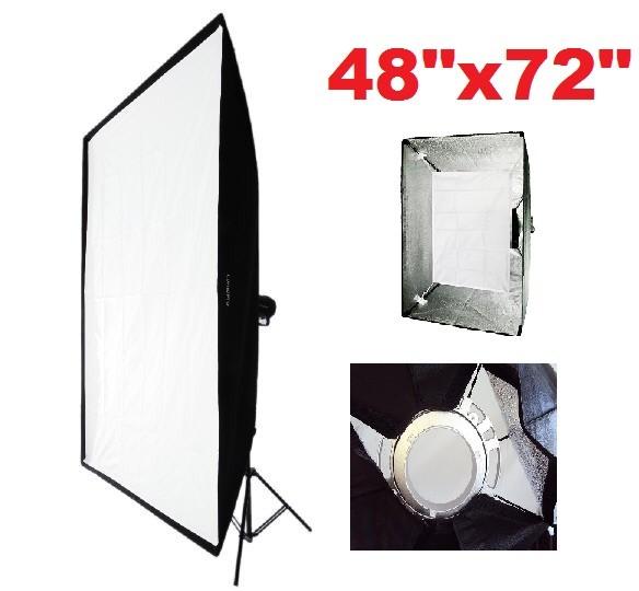 "Alienbees Softbox: Pro XL 48""x72"" Photo Studio Softbox Monolight Soft Box"
