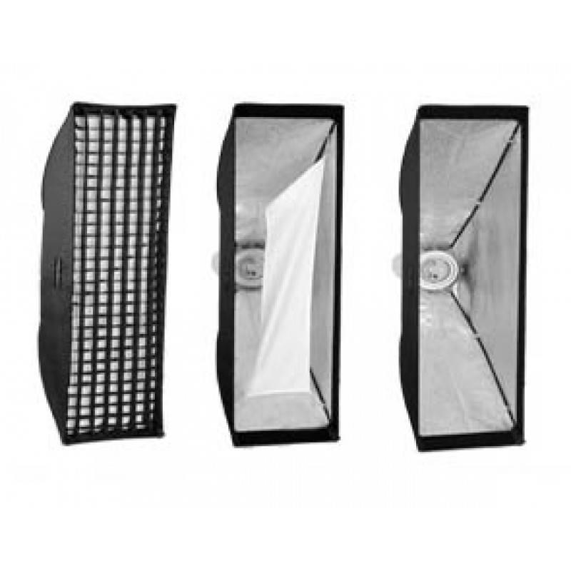 "Alienbees Softbox: Pro 14"" X56"" Strip Softbox Photo Studio Monolight Soft Box"
