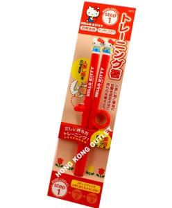 Hello Kitty Kids Child Beginner Chopsticks Step 1 S32