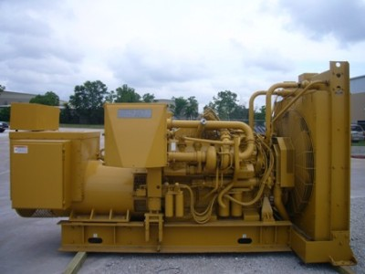 Caterpillar 3412 Generator Set 1186 HP 1800 RPM 725 KW Prime