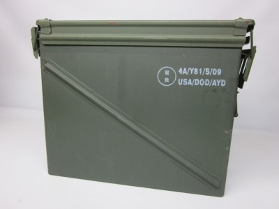 united states military large waterproof ammo containers military storage 2 ebay. Black Bedroom Furniture Sets. Home Design Ideas