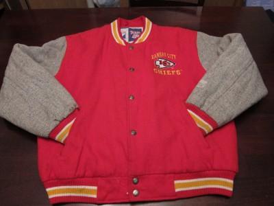 VTG Kansas City Chiefs NFL Football Varsity Fresh Swaggin Cool Wool