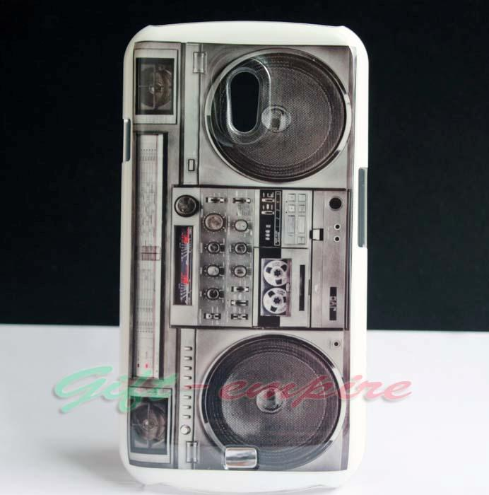 Old-RADIO-CASSETTE-Player-Hard-Skin-Cover-Case-For-Samsung-Galaxy-Nexus-i9250