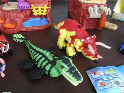 imaginext t rex mountain instructions