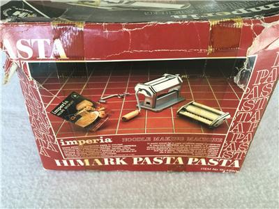 how to clean imperia pasta machine