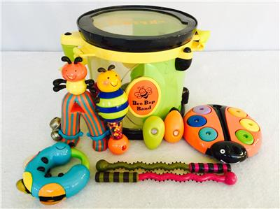 Parents Parents Magazine Bee Bop Band Play Learn Drum ...