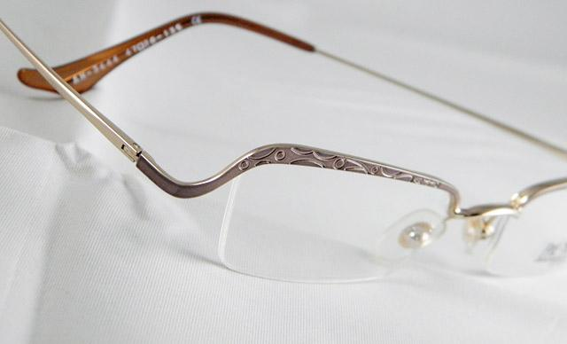 Rimless Eyeglass Frames Problems : GOLDEN LADIES WOMENS OPTICAL EYEGLASS FRAMES EYEWEAR HALF ...