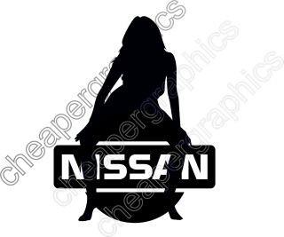 NISSAN JDM Girl, Car Vinyl Decal Sticker, Dub, Women all colour | eBay