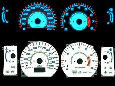 mitsubishi montero sport 98 99 00 01 02 glow gauges - Mitsubishi Montero 2000 Custom