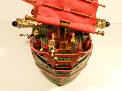 mega bloks pirate ship instructions