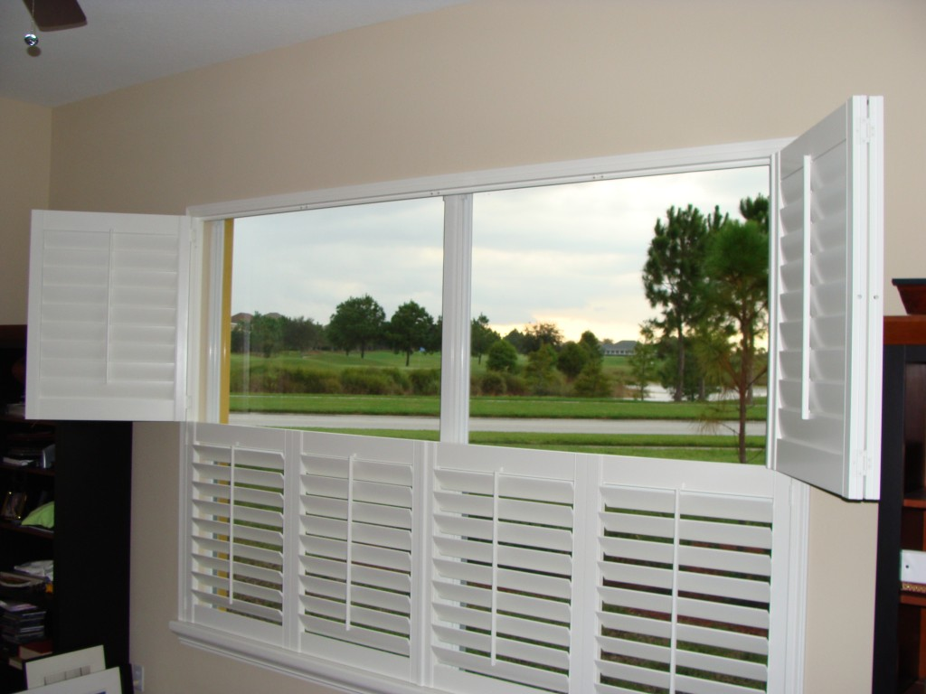 plantation shutters order any custom size by sqft cost. Black Bedroom Furniture Sets. Home Design Ideas