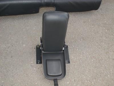 Volvo C70 Rear Seats Armrest Leather OEM Black 98 04