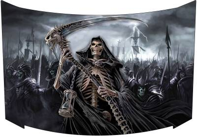 Grim Reaper Hood Vinyl Graphic Decal Wraps Camouflage Ebay
