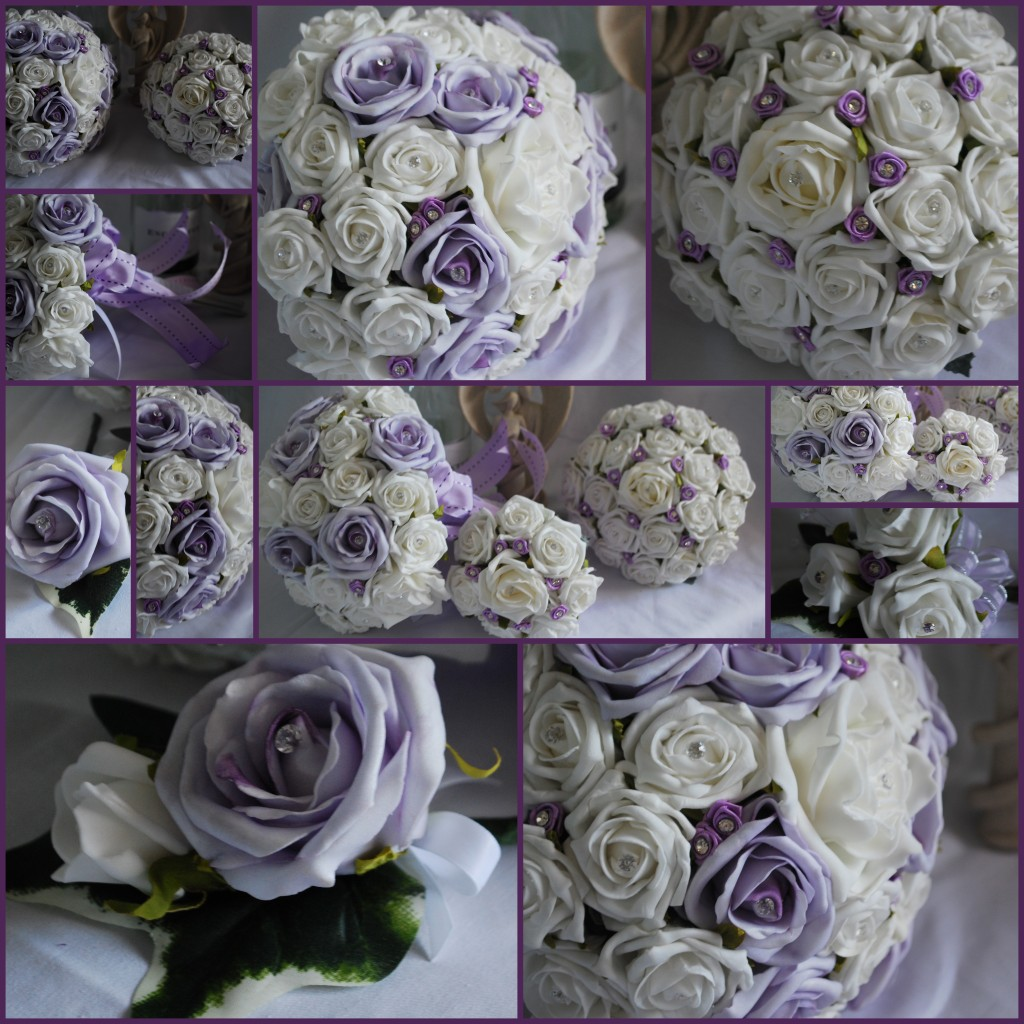 Bespoke Artificial Bridal Flower Package Wedding Flowers Made To Order
