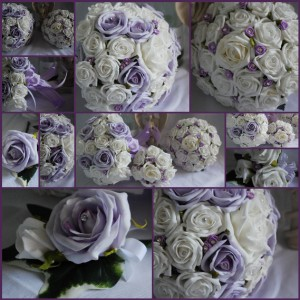 bespoke artificial bridal flower package wedding flowers made to order ebay. Black Bedroom Furniture Sets. Home Design Ideas