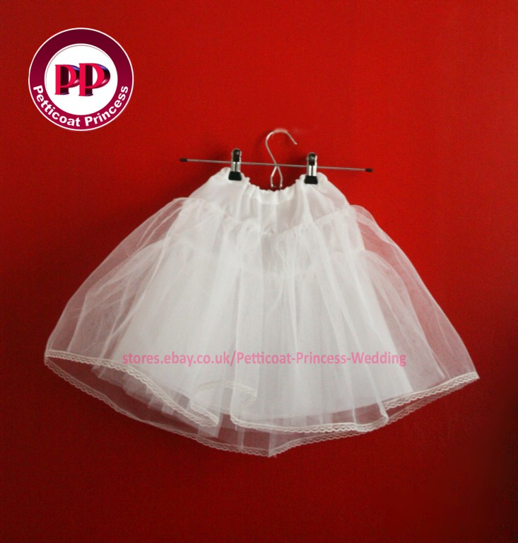 330426795_o?nc=196 children petticoat for flower girls holy communion pageant 1 15,Childrens Clothes Ebay Uk
