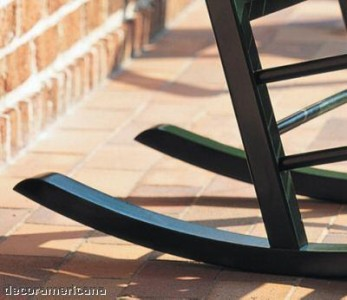 Brazilian Cherry Brazilian Cherry Rocking Chair Outdoor