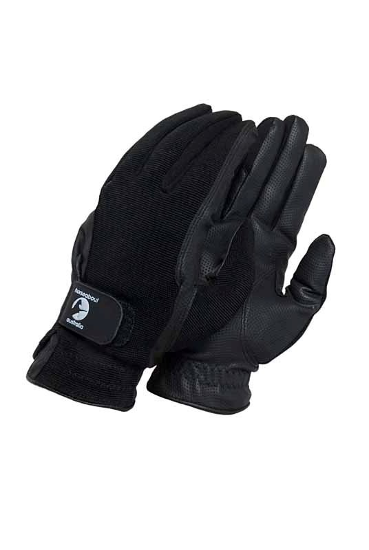 Horseabout Australia Black Super Sensitive Gloves