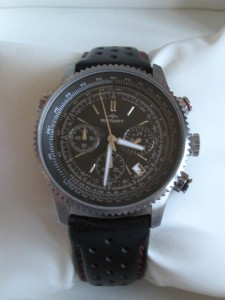 rotary chronograph watch instructions