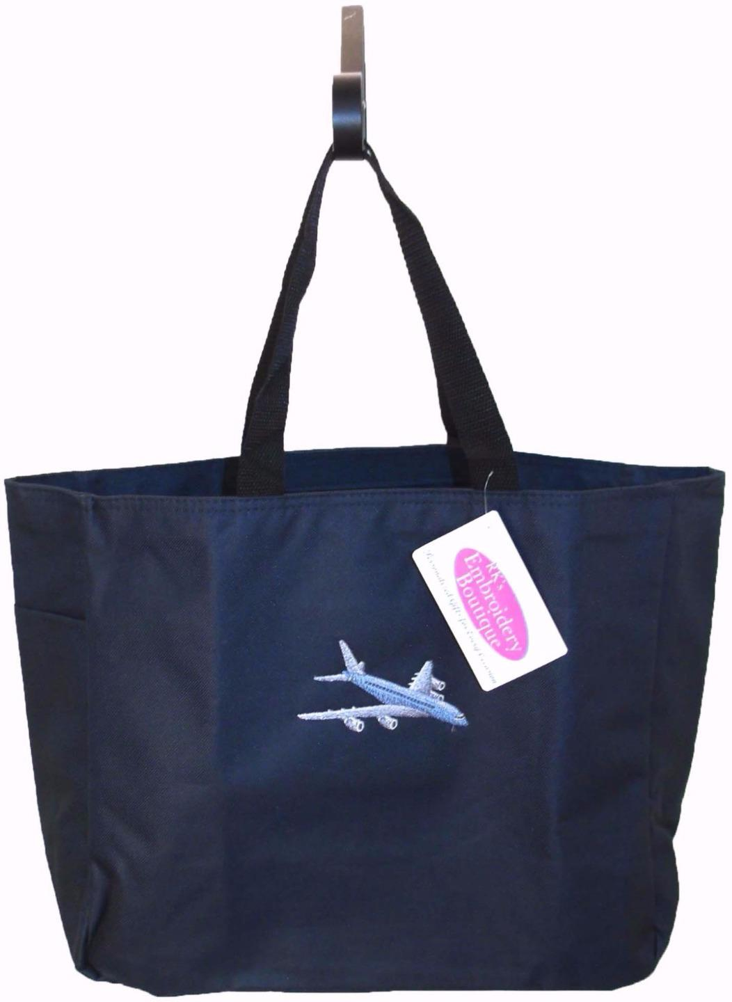 Airplane Essential Tote Bag Flight Attendant Airline ...