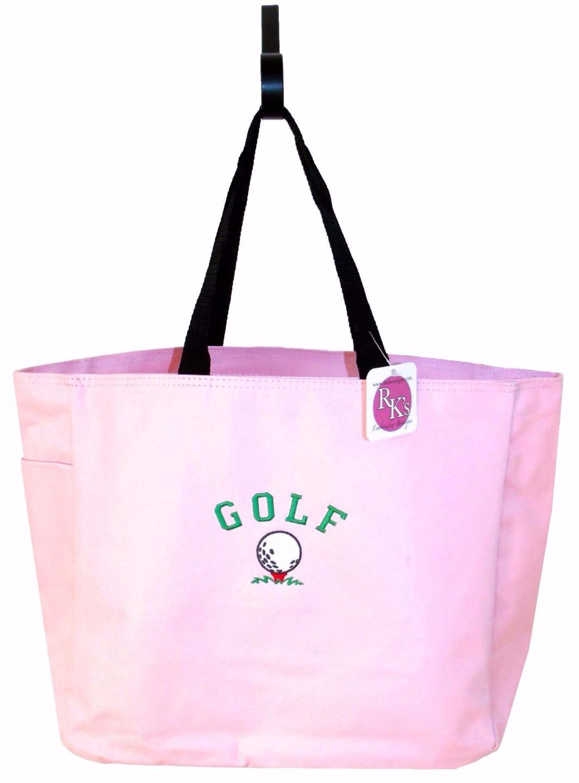 Golf ball golfer gift free name custom embroidered