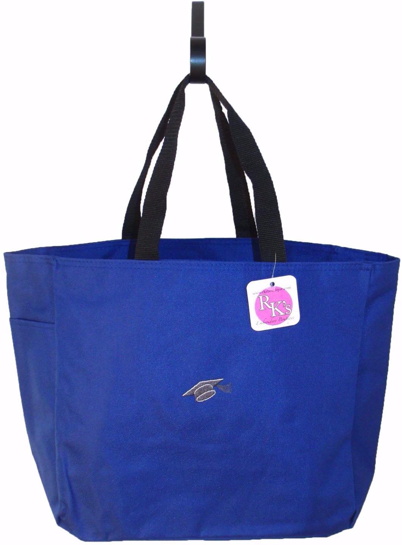 Graduation cap graduate gift bag name monogram