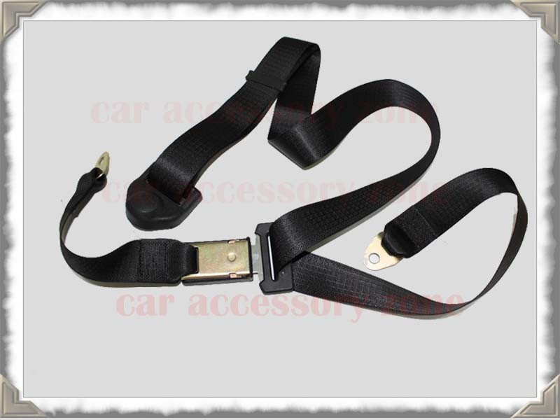 Three Point Belt : Three point static seat belt seatbelt fit most car uk