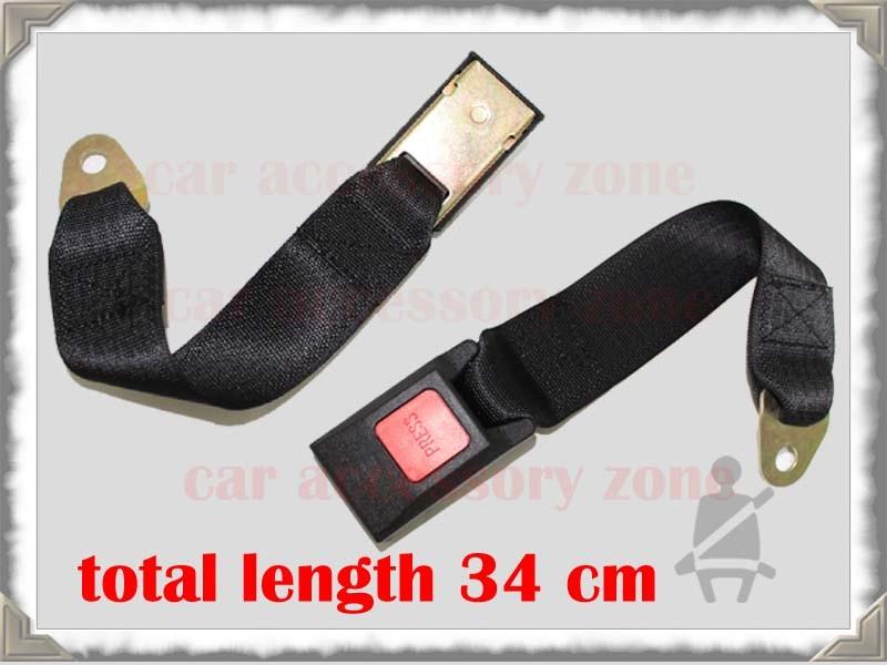 2 auto ceinture de s curit noir 3 points ceinture si ge. Black Bedroom Furniture Sets. Home Design Ideas