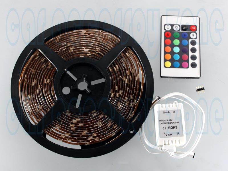 Led lights provides 16 colours and five light patterns in flash strobe white fade change rgb smooth change available in brightness control and light speed mozeypictures Image collections