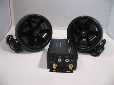 shark 250 watt motorcycle audio system manual