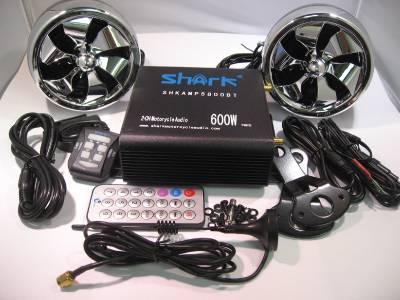shark motorcycle audio system manual