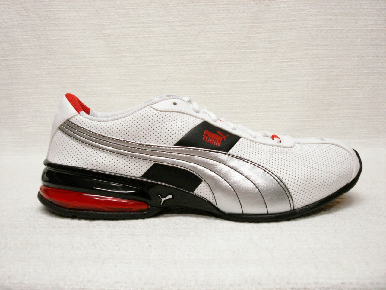 Details about NIB~PUMA~CELL TURIN PERF~MENS~SHOE S~BLACK~RED~8~ NICE