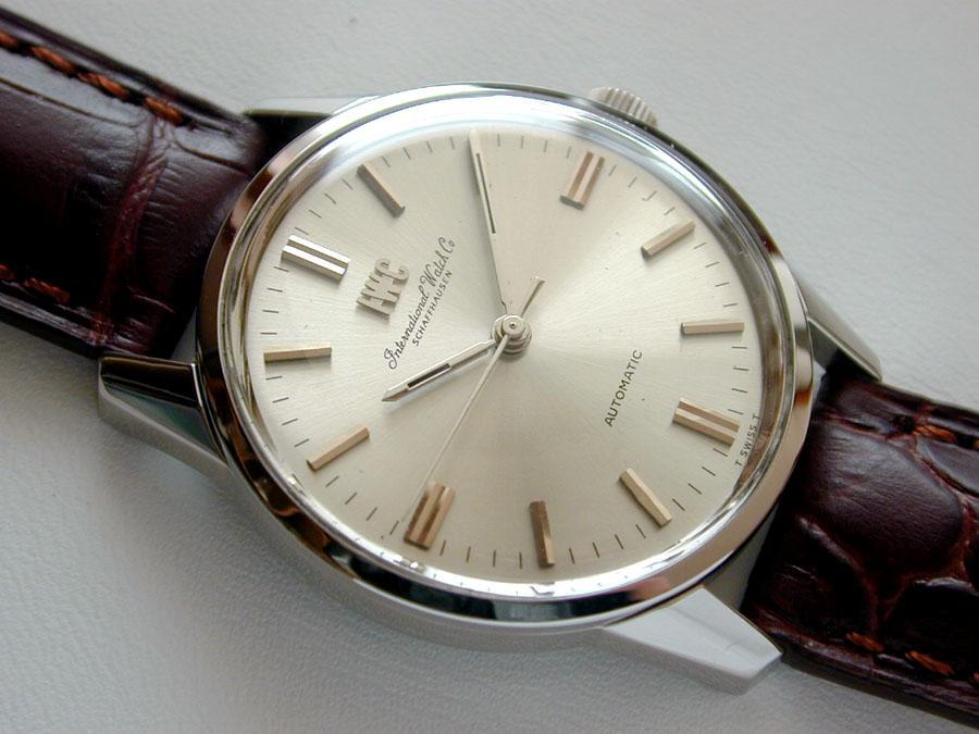 iwc schaffhausen automatic watch 1970 39 s ebay. Black Bedroom Furniture Sets. Home Design Ideas
