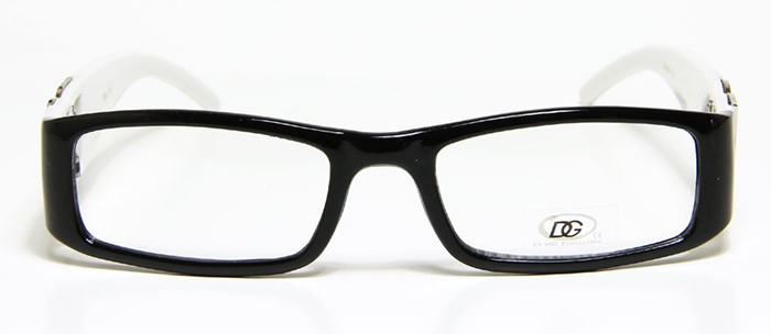 Zebra Print Glasses Frames : Womens Designer Eyeglasses DG Black White Frame Animal ...