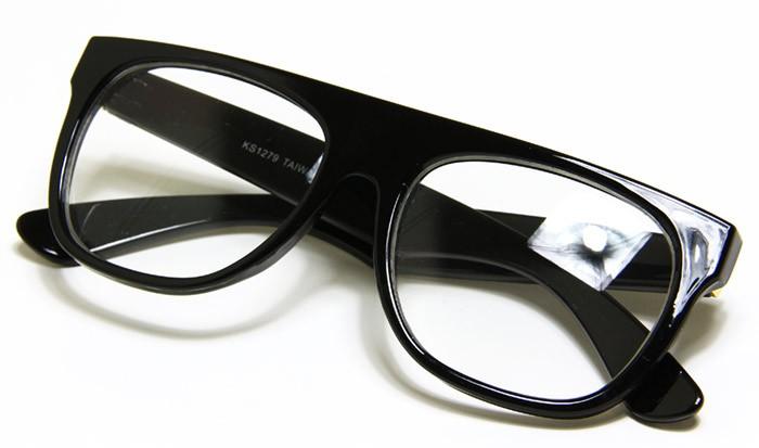 Old Fashioned Glasses Frame : New Cool Old Fashion Vintage Style Eyeglasses Black Frame ...