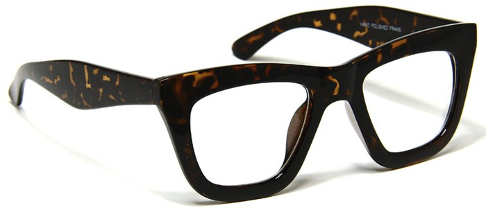 Mens Large Eyeglasses Retro Vintage Tortoise Shell Bold ...