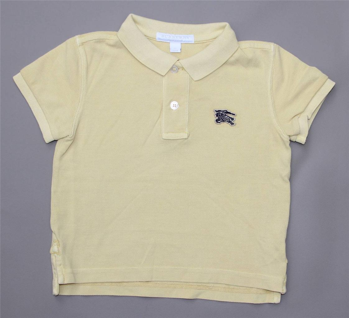 New authentic burberry boys polo shirt t shirt size 4 5 6 for What size shirt for 8 year old boy