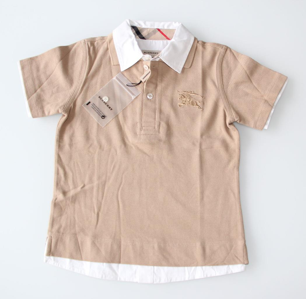Burberry boys' top 4-5 years of age
